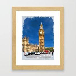 Parliament Building Framed Art Print