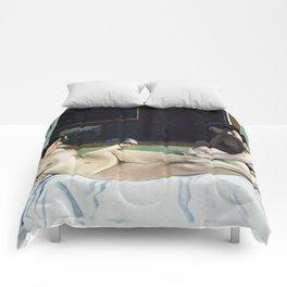 Felix Vallotton -  The Models' Rest (new color editing) Comforters