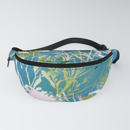 Watercolor Meadowland Fanny Pack