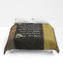 Breadcrumbs: Goldilocks and the Three Bears Comforters