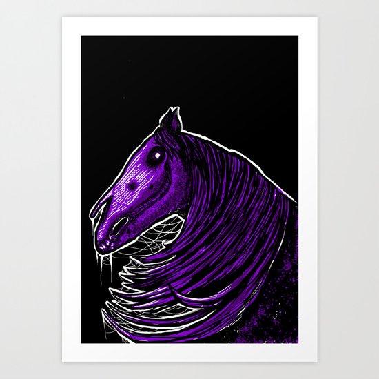 """Death horse"" Art Print"