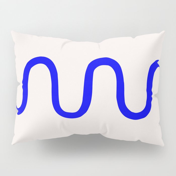 Abstract Shape Series - Squiggle Pillow Sham