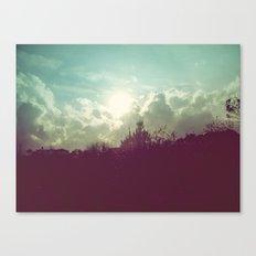 Lomovision Place Canvas Print