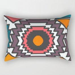 Colorful forms Rectangular Pillow