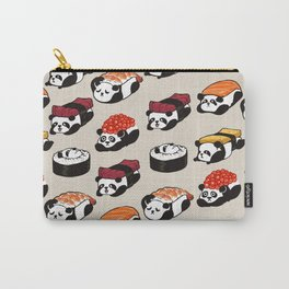 Sushi Panda Carry-All Pouch