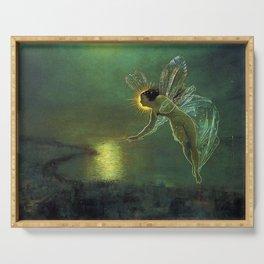 SPIRIT OF NIGHT - JOHN ATKINSON GRIMSHAW Serving Tray