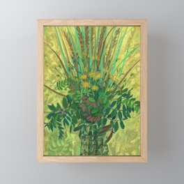 Bouquet from the Finnish Bay Framed Mini Art Print