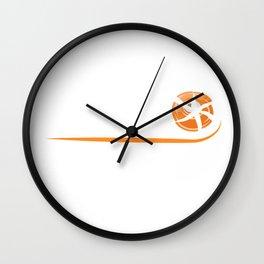 If Flies It Dies Skeet Shooting Funny design Gift Saying Wall Clock