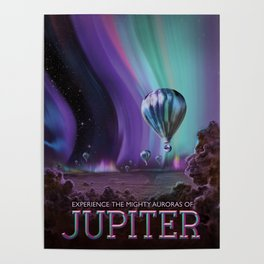 Visions of the Future: The Mighty Jupiter Poster