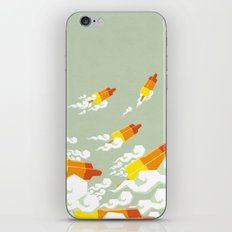 Flight of the rockets iPhone & iPod Skin