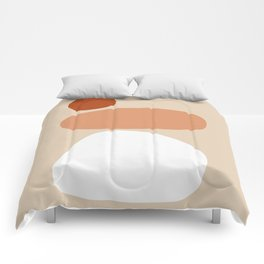 Abstract Shape Series - Stacking Stones Comforters