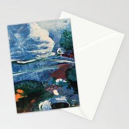 Mini World Environmental Blues 2 Stationery Cards