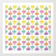Palmiers Art Print