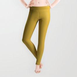 Yellow Mustard D4AE40 Leggings