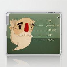 Fake nose Laptop & iPad Skin