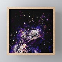 tyrannosaurus rex wsls Framed Mini Art Print