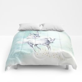 Unicorn magic Comforters