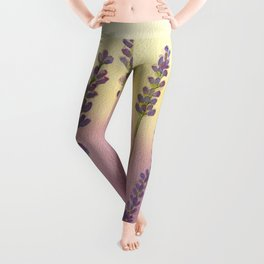 Lavender in Sunset Leggings