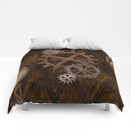 Comforts of Steampunk Comforters