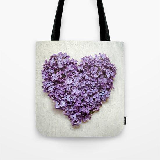 Summer Heart Tote Bag