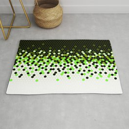 Flat Tech Camouflage Reverse Green Rug