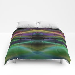 Geometric abstract disign Comforters