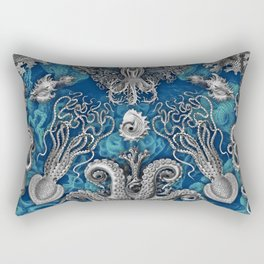 The Kraken (Blue) Rectangular Pillow