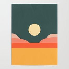 Geometric Landscape 14 Poster