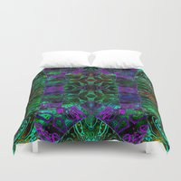 wild things Duvet Covers featuring Wild Things II by RingWaveArt
