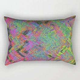 Abstracting Pink Rectangular Pillow