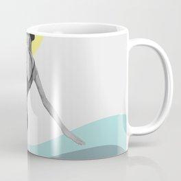 Swimmer Collage Coffee Mug