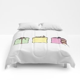 P is for Petit Four Comforters
