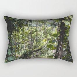 Hidden Jungle River Rectangular Pillow