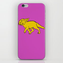 The Sly Fennec Fox iPhone Skin