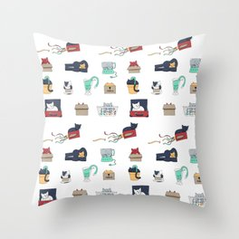 Contain Yourself -- Pattern Throw Pillow