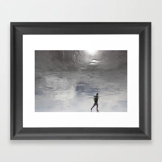 at the edge of a dream Framed Art Print