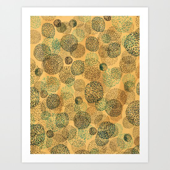 Coffee Universe Art Print