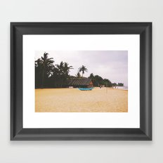 Mount Lavinia Beach, Sri Lanka Framed Art Print