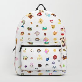 animal crossing pattern Backpack