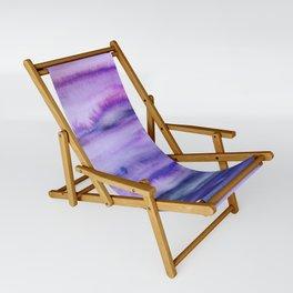Power Purple Sling Chair