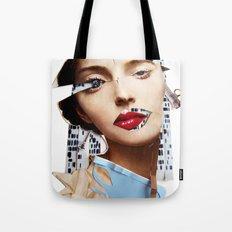 Make me beautiful | Collage Tote Bag