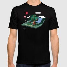 A relaxing little world T-shirt