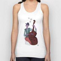 cello Tank Tops featuring Smooth Cello by Erin Eng