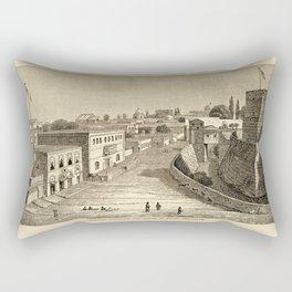 Jerusalem 1857 Rectangular Pillow