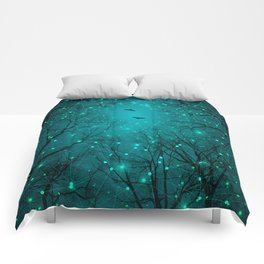 One by One, the Infinite Stars Blossomed Comforters