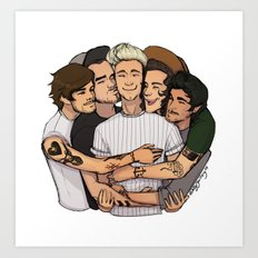 Group Hug Art Print