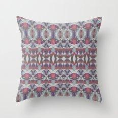 Tribal splash Throw Pillow