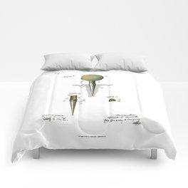 Golf Tee Patent - 1899 Comforters