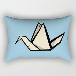 The Art of Origami - Origami Crane Rectangular Pillow