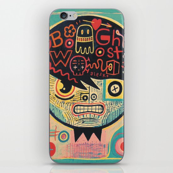 Chinese ghost story iPhone & iPod Skin